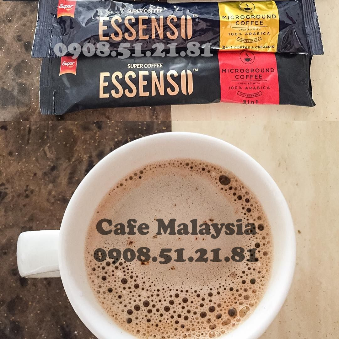 cafe malaysia Super Essenso MicroGround Coffee