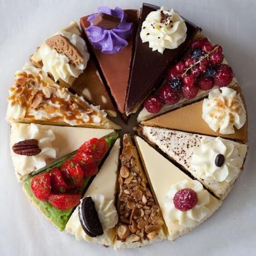 Mmmm, cheesecake!