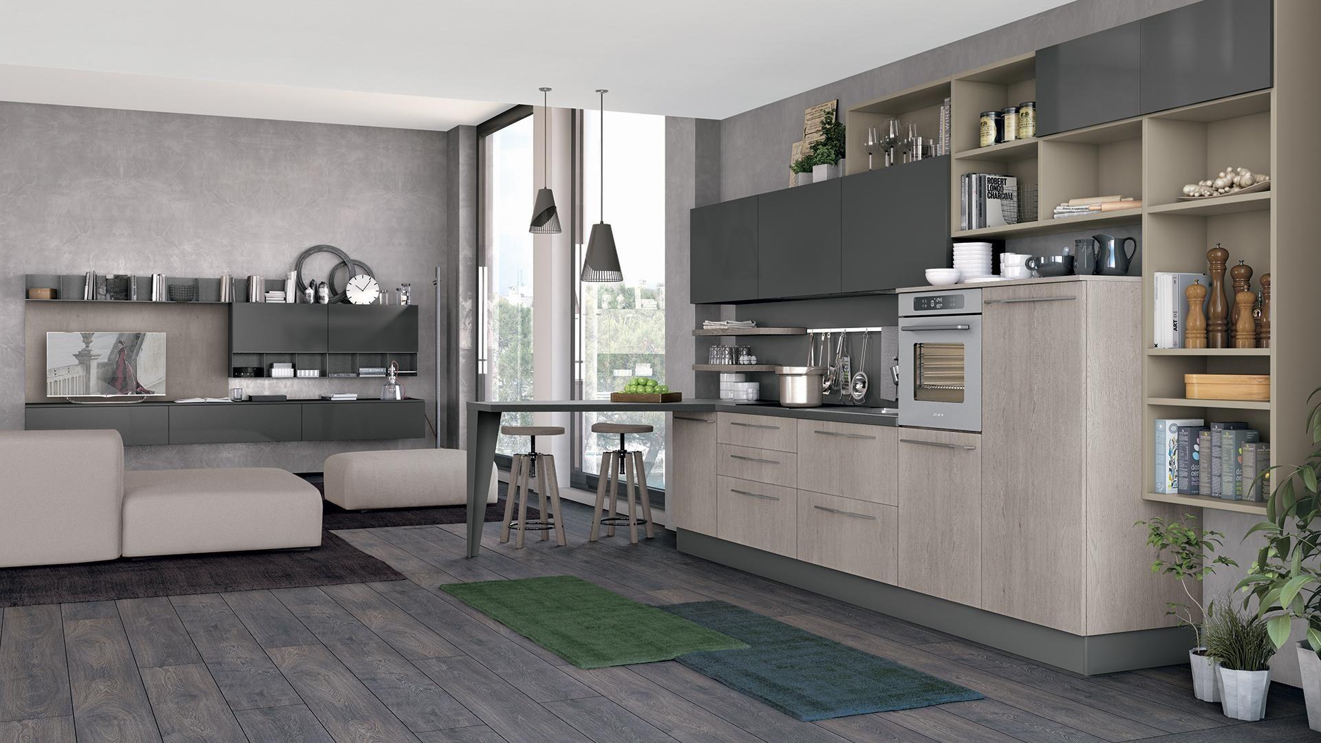 Clover Cucine Lube Cucine Moderne Arredo Interni Cucina Design Cucine