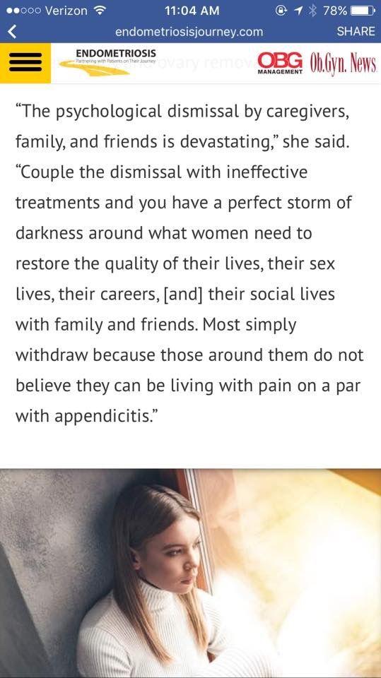 Pin By Kaci Pearson On Endometriosis Endometriosis Perfect Storm Psychology