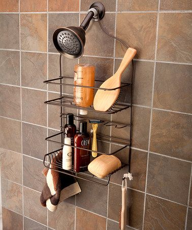 Oil Rubbed Bronze Extra Large Shower Caddy #