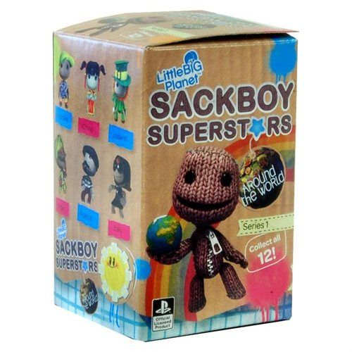 "Little Big Planet Sackboy Superstars Series 1 2"" Figure Collectibles Blind Box Packaging"
