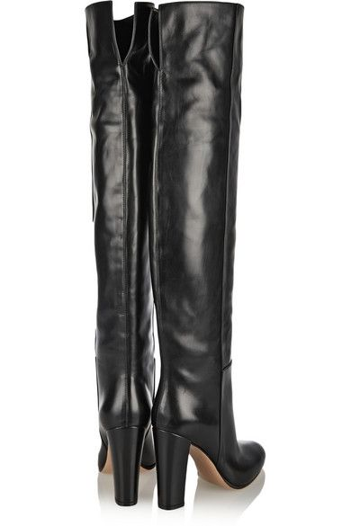 Gianvito Rossi Leather knee #boots