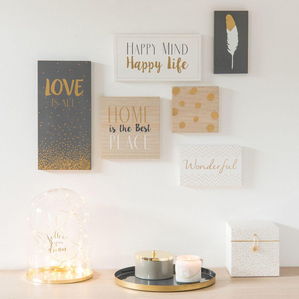 Maisons du monde propone una vasta collezione di quadri per la camera da letto estremamente versatili e perfettamente adattabili a. Wandbilder Camera Da Bambino Stampe Cornici Collage