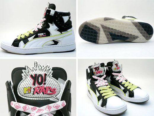 Puma x Yo! MTV Raps Edition Sample