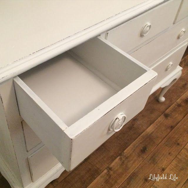 Lilyfield Life: White dresser