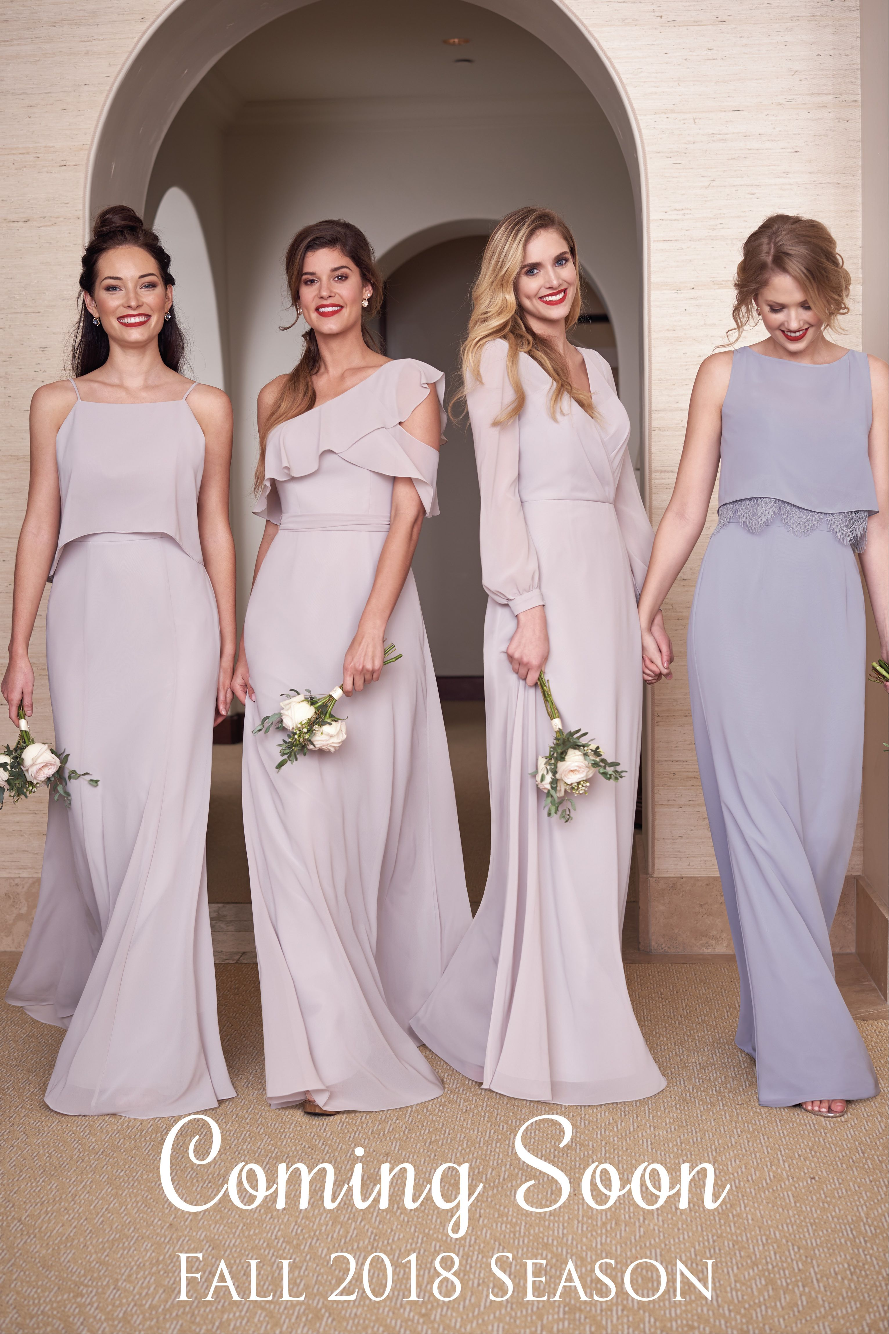 Launching 4-15-18! Jasmine Bridal - JB Fall 2018 Bridesmaids ... cdc8bbed9097