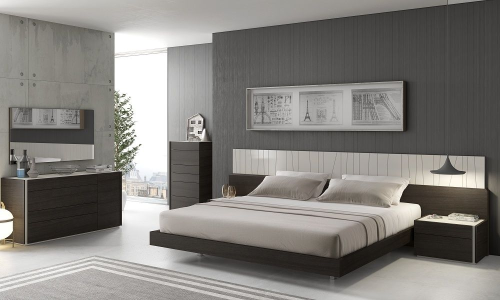Grey Bedroom Brown Furniture Schlafzimmer Set Schlafzimmermobel