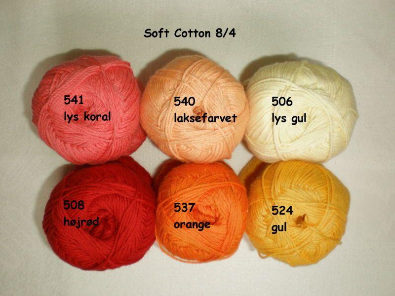 Soft Cotton 8/4 - Garnlageret-aarhus.dk