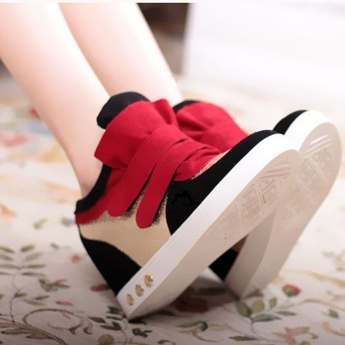 free shipping new 2014 women increased single high casual shoes sneakers flats spring version of the influx of Velcro shoes $29.90