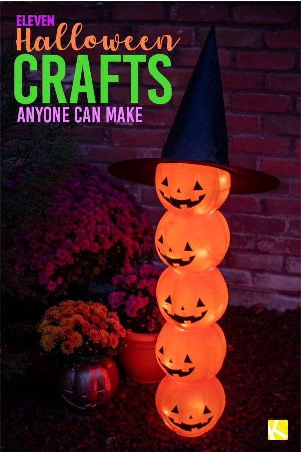 Photo of 11 Easy & Cheap DIY Halloween Crafts Anyone Can Make