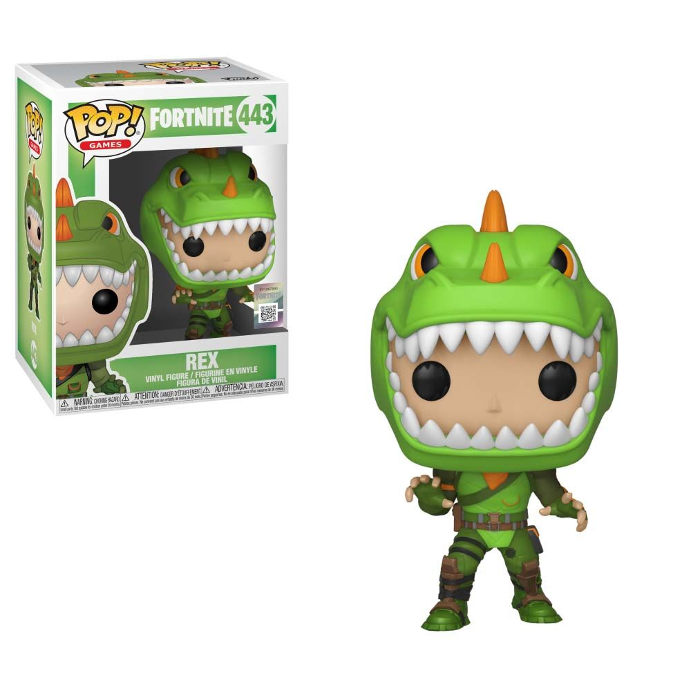 Pop Games Fortnite Rex For Collectibles Gamestop Funko Pop