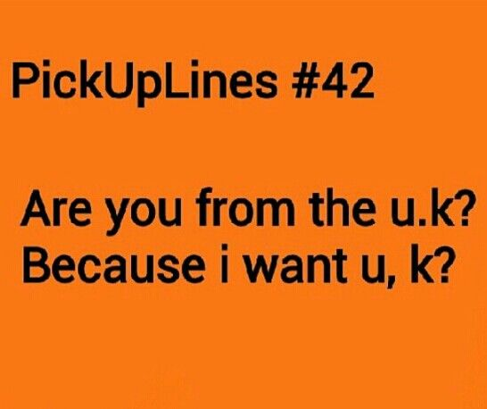 Cute gay pick up lines