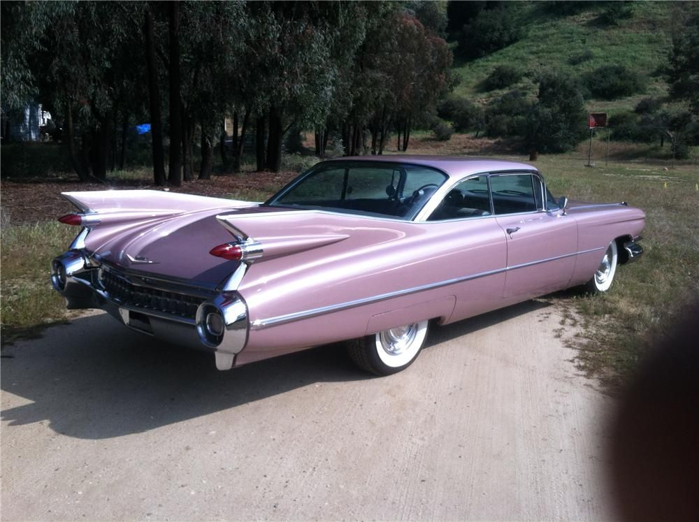 1959 CADILLAC COUPE DE VILLE 2 DOOR COUPE-this was the MOST ...