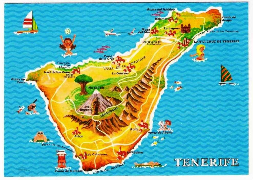 Posts About Fuerteventura On Have Bag Will Travel Tenerife Canary Islands Island Map