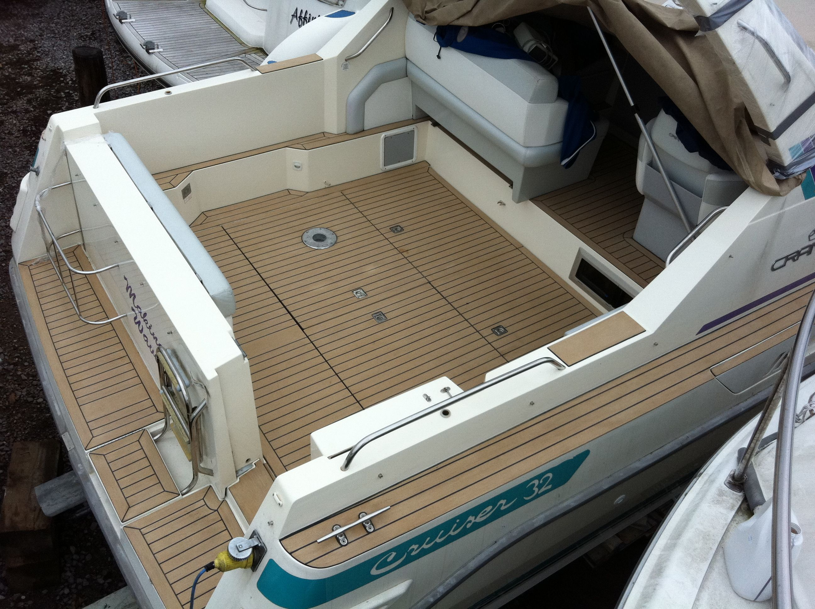 4 X8 Synthetic Board Pontoon Boat Vinyl Flooring In Canada