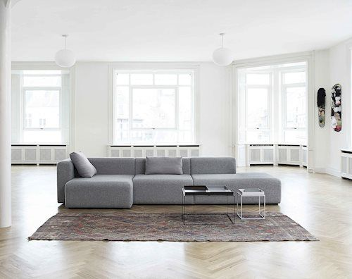 Sofas in contemporary and timeless designs from HAY Kbely