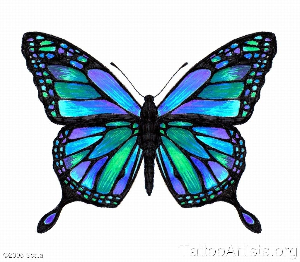 Tattoo Designs Online: Butterfly Tattoo Designs Online