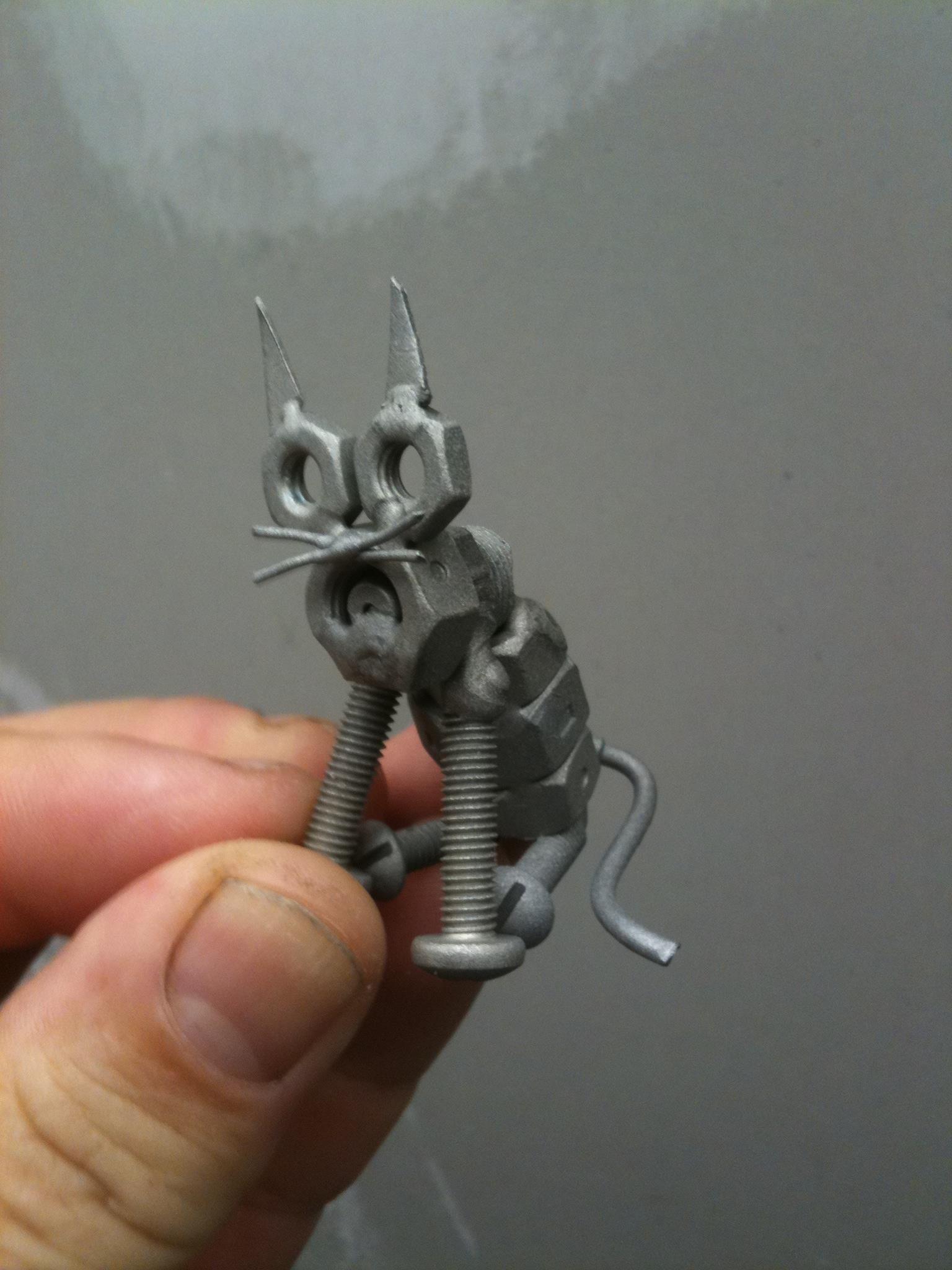 Welded Scrap Cat Welding Art Scrap Metal Art Welding Art Projects