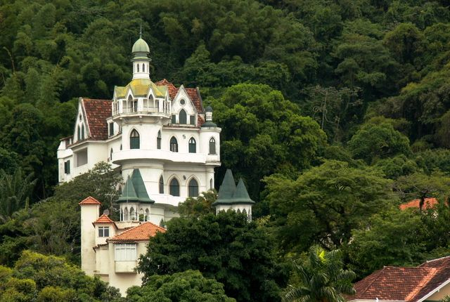 Pousada Castelinho38 Rio De Janeiro, Brazil  The Bohemian hilltop neighborhood…