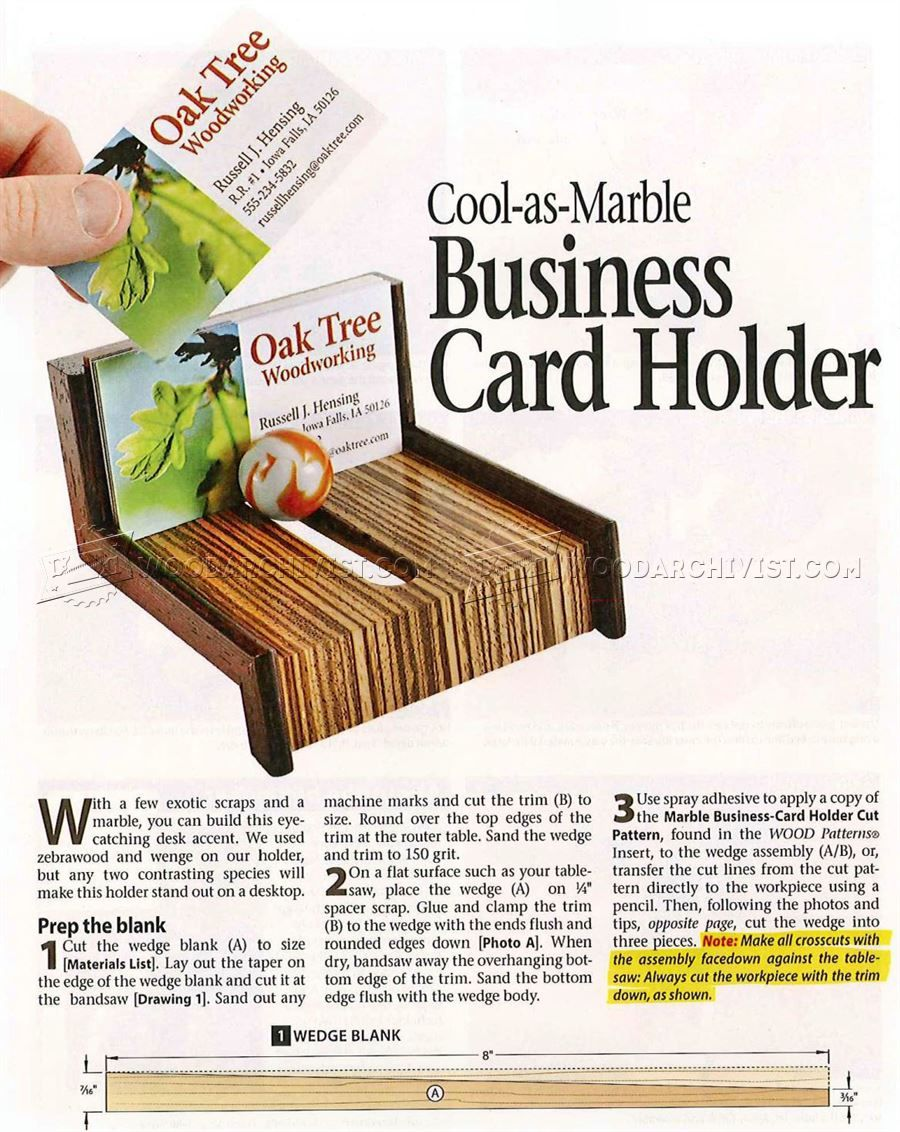 2313 wooden business card holder plans woodworking plans 2313 wooden business card holder plans woodworking plans colourmoves Images