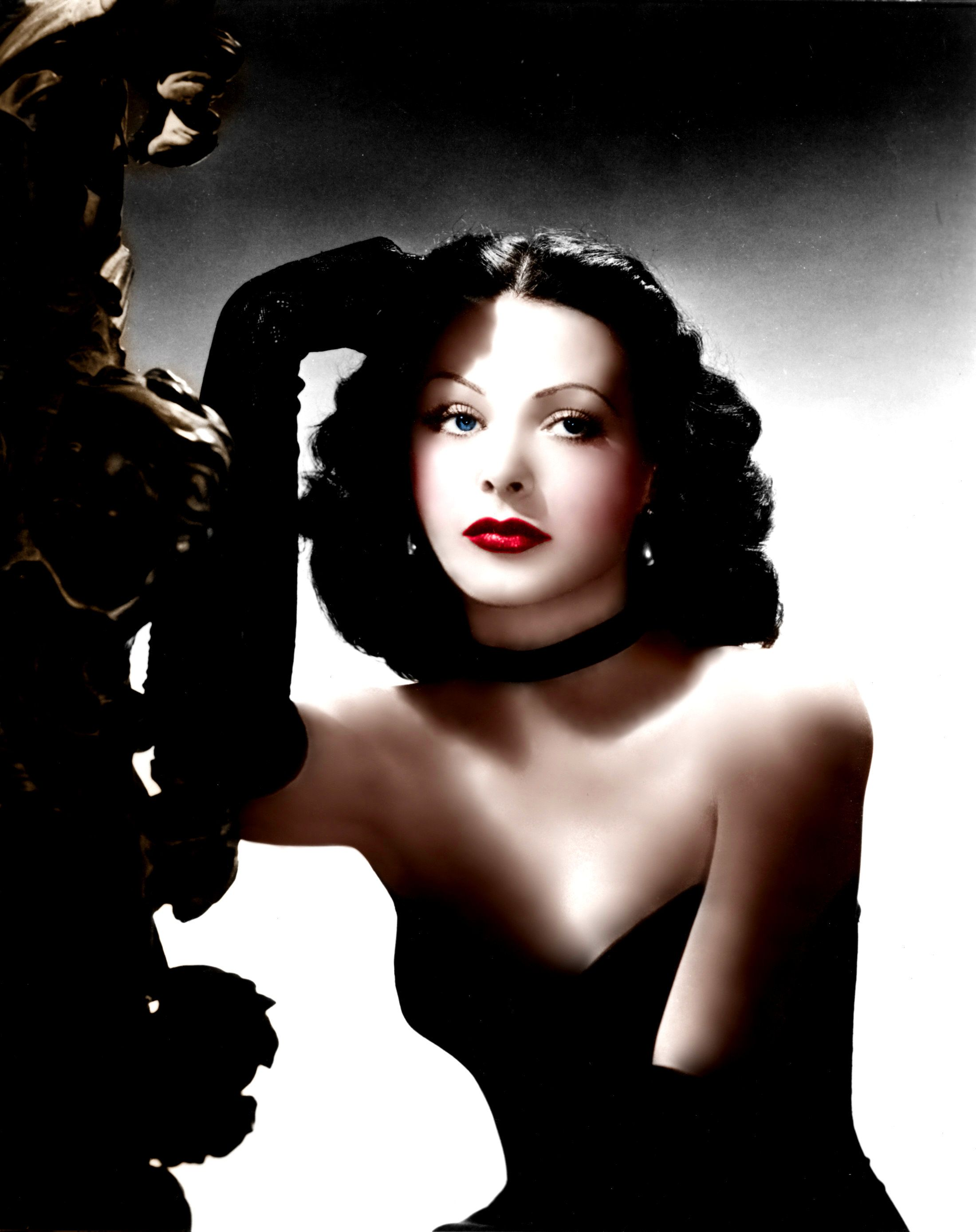 Hedy Lamarr Color By Brenda J Mills Glamorous Movie Stars Of The