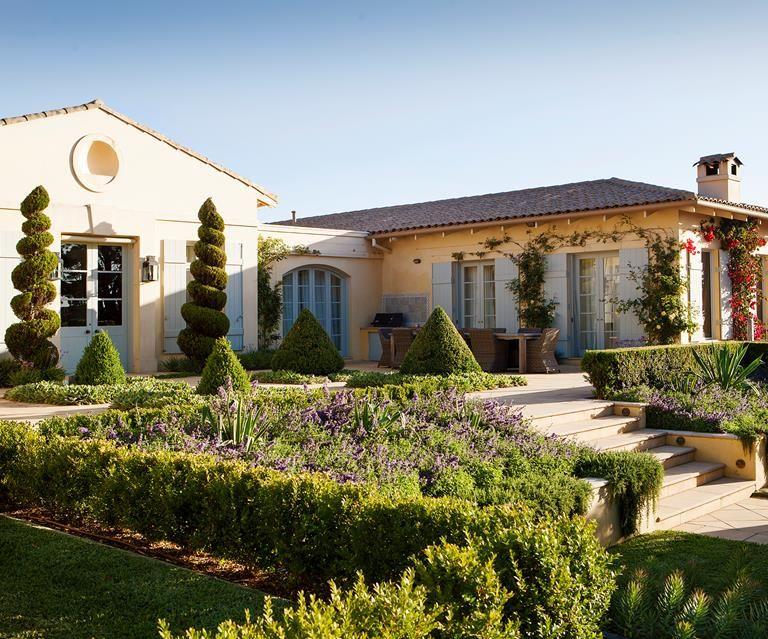 Mediterraneanstyle garden in the mornington peninsula