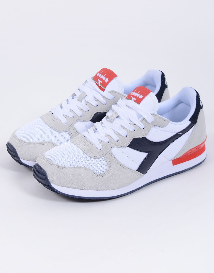 Diadora Camaro White/Blue/Red