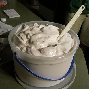 Homemade peppermint ice cream whats cooking america pinterest easy peppermint ice cream recipe ccuart Image collections