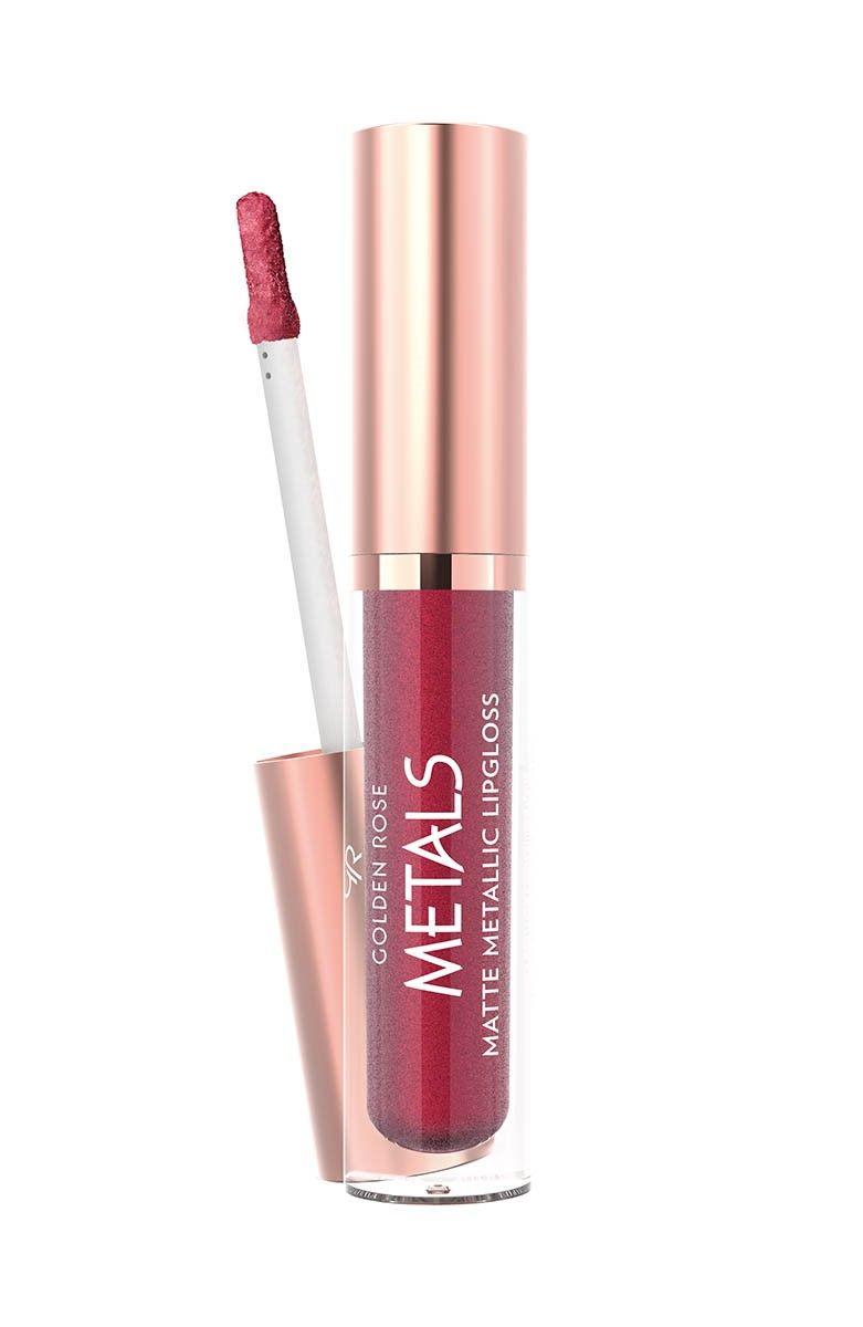 Metals Metallic Matte Matte Metallic Lipgloss Creates Matte And Metallic Finish On Your Lips This Weightless Lo Golden Rose Cosmetics Lipstick Matte Metallic