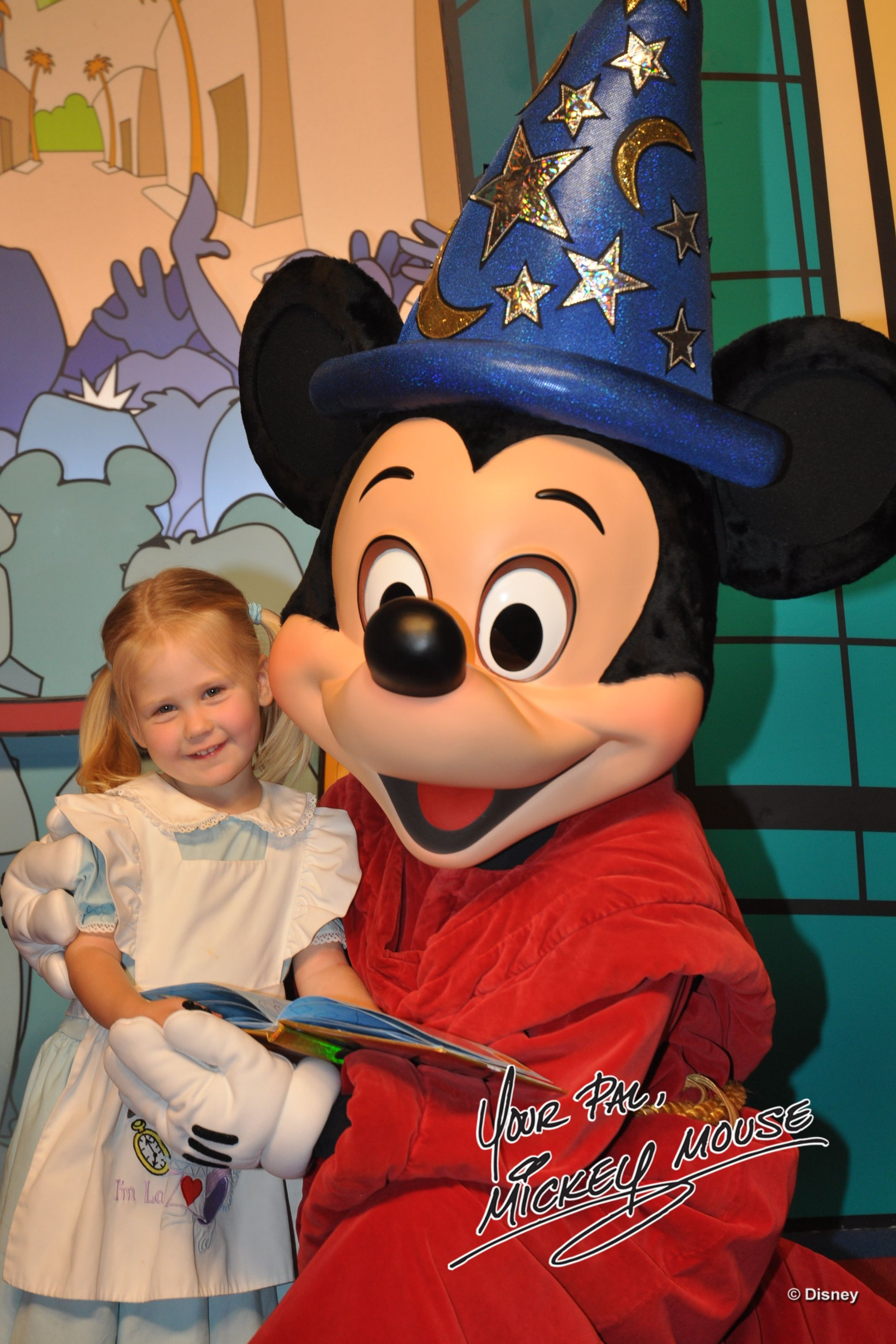 April 2011 - with the mouse