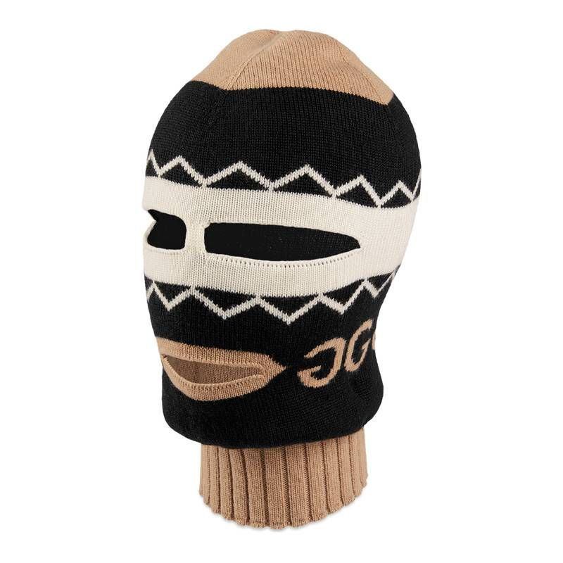 fe9177bf GUCCI MIRRORED GG JACQUARD WOOL BALACLAVA. #gucci # | Gucci | Hats ...