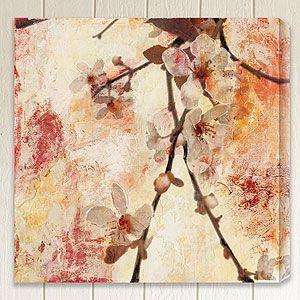 Rapture Iv By Sara Abbott World Market Flower Canvas Wall Art Canvas Art Prints Vintage Wall Art