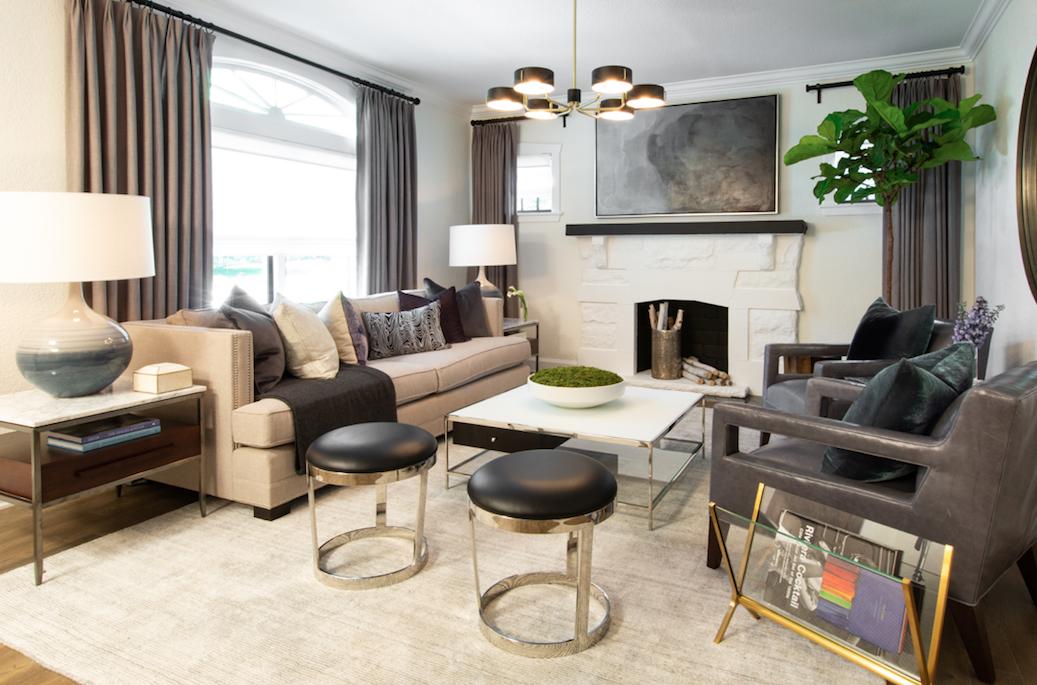 Living Room Deco Disenos De Unas