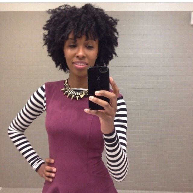 Cute outfit....great twist out! | Beautiful hair, Girls natural hairstyles, Natural hair styles