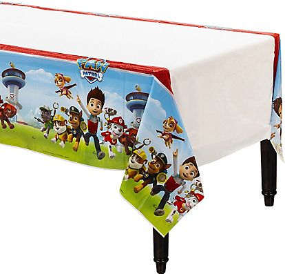 PAW Patrol Table Cover 54in X 96in