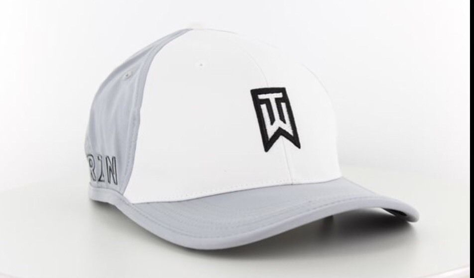Ambos Instruir asqueroso  TIGER WOODS LOGO COLLECTION GOLF GRAY/WHITE CAP HAT NIKE RZN VAPOR  63971-012   White caps, Logo collection, Wood logo