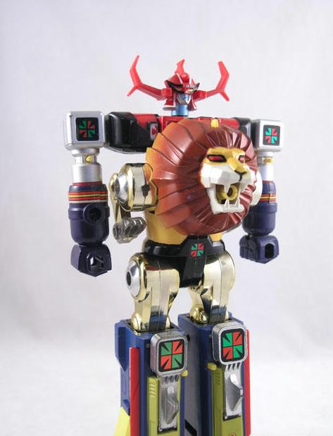 Japanese Toys Chogokin Daltanious
