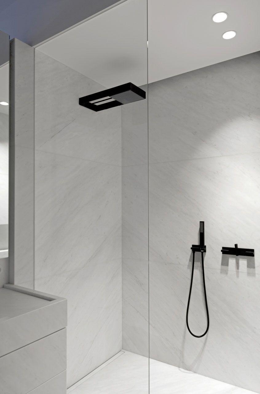 1Loch DesignWaschtischarmatur ANDREW Moderne dusche