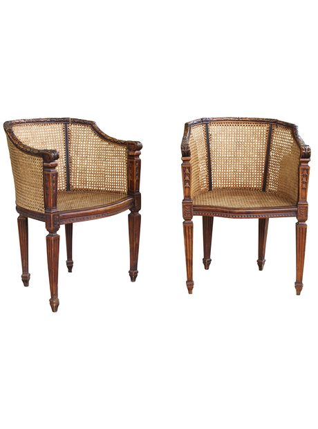 Design Chic Colonial Furniture Caned Armchair Chair
