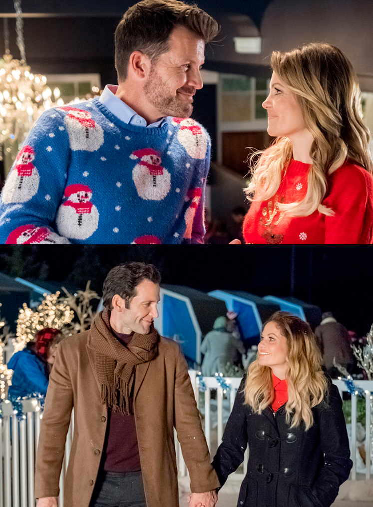 Switched For Christmas Candace Cameron Bure Plays Two Identical Twin Sisters In This Original New Hallmark Christmas Movies Hallmark Movies Christmas Movies