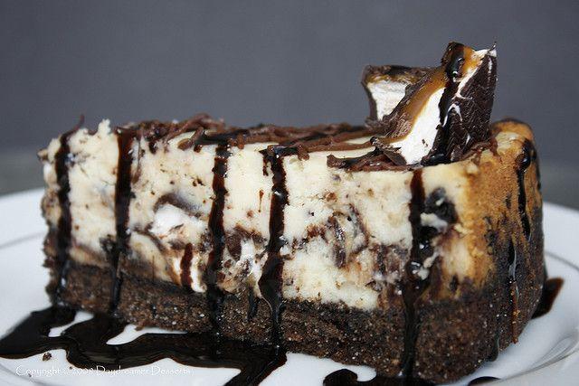 Milky Way Midnight Cheesecake by DaydreamerDesserts, via Flickr