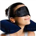 3 in 1 Neck Pillow + Eye Mask+ Ear Plugs - $2.45
