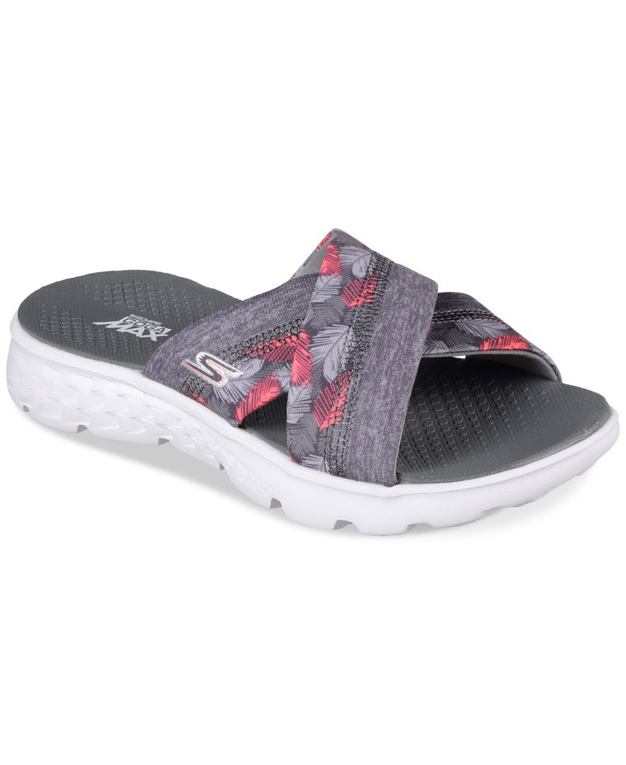 b0fe54be929b Skechers Women s On The Go - Tropical Flip Flop Thong Sandals from Finish  Line