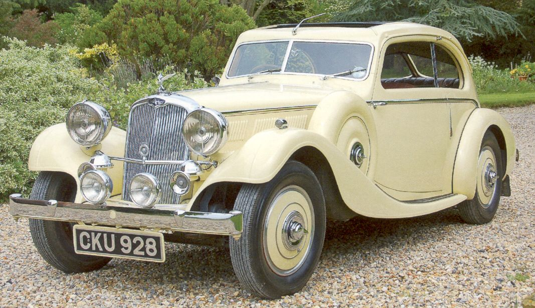 Triumph Gloria, 1935. I would love to live in this period and drive ...