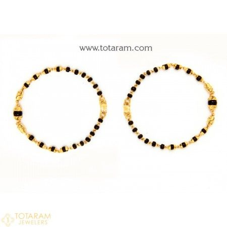 22K Baby Bangles Indian gold jewelry Gold jewellery and Gold