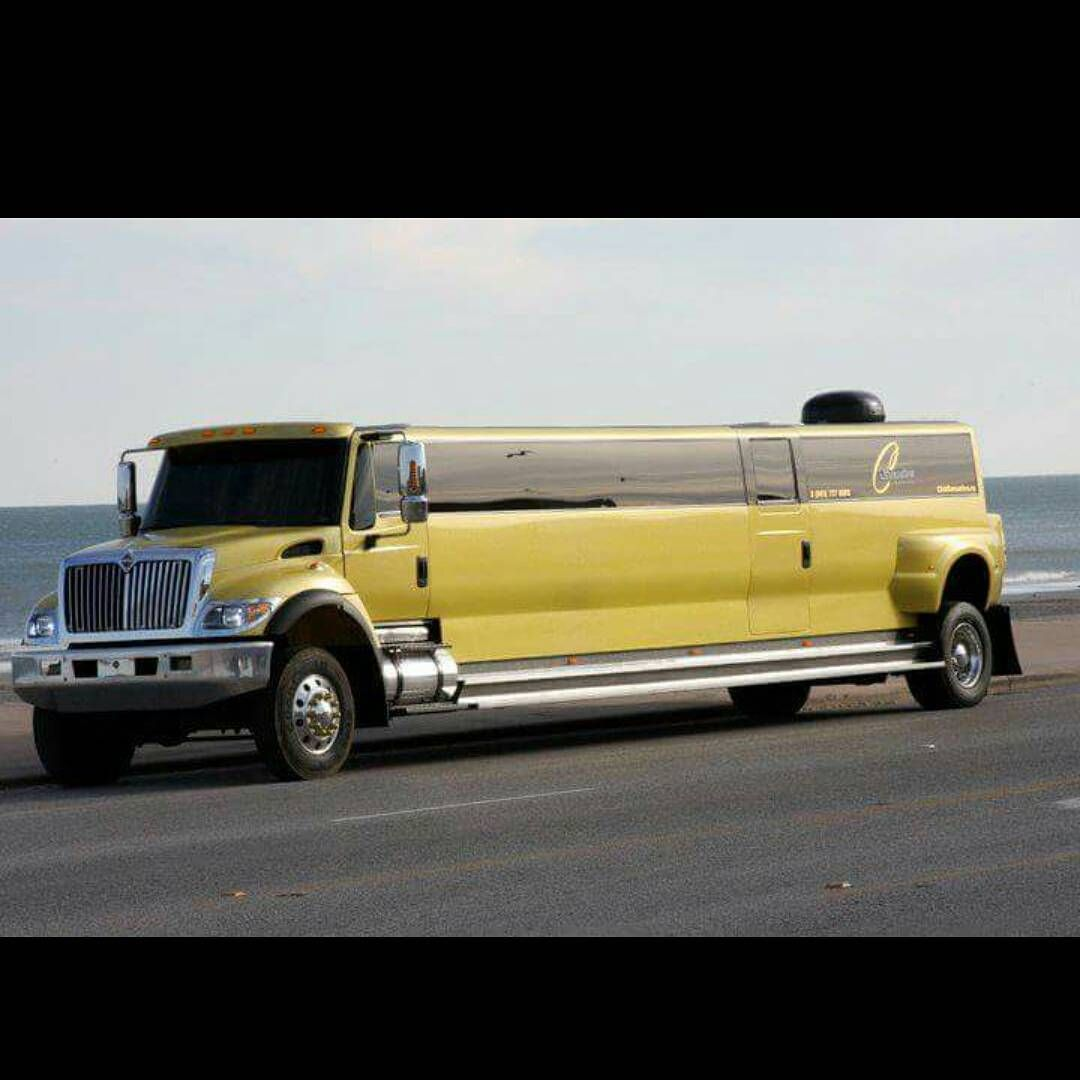 Semi Tractor Limousine With Images Limo Big Trucks Limousine