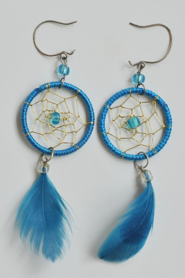 How To Make Dreamcatcher Earrings