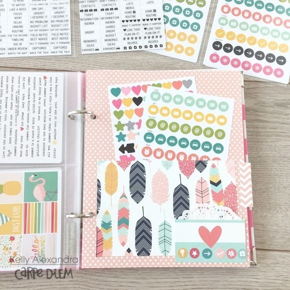 Sticker Storage, Planner