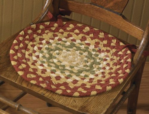 Delicieux Decorating · Mill Village Braided Chair Pad ...
